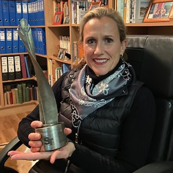Award Winner: Prof Christine Lochner, Co-Director: South African Medical Research Council Unit on Risk and Resilience in Mental Disorders, Department (Dept) of Psychiatry, Stellenbosch University (SU)