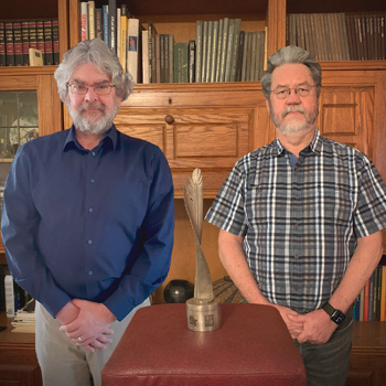 Award Winners: South African Population Research Infrastructure Network (SAPRIN), Co-Directors: Prof Mark Collinson and Dr Kobus Herbst, Wits Rural Campus, Mpumalanga